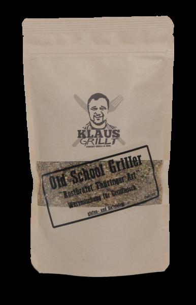 Klaus grillt Old School Griller Thüringer Rostbrätl