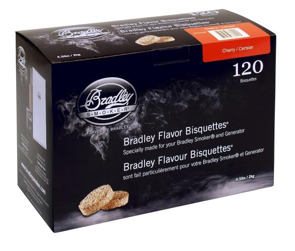 Bradley Smoker Kirsche-Aromabisquetten (120 Stück)