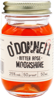O'Donnell Moonshine Bitter Rose Likör 50 ml