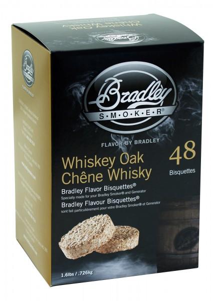 Bradley Smoker Whiskey Eiche-Aromabisquetten (48 Stück)