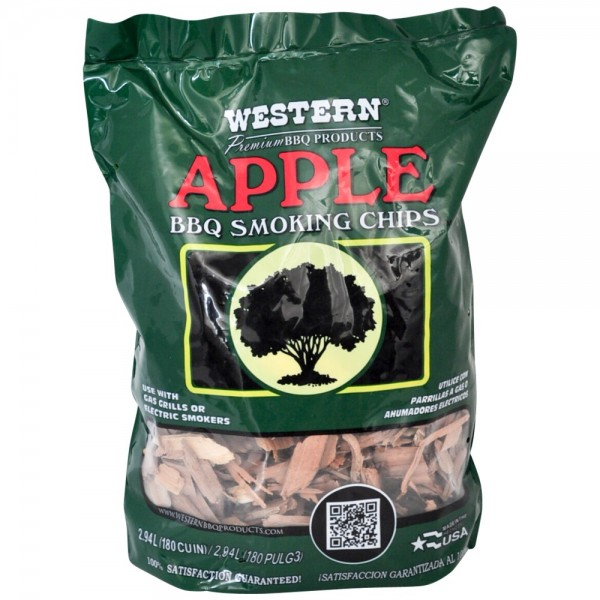 Western BBQ Smoking Chips Texas Apple