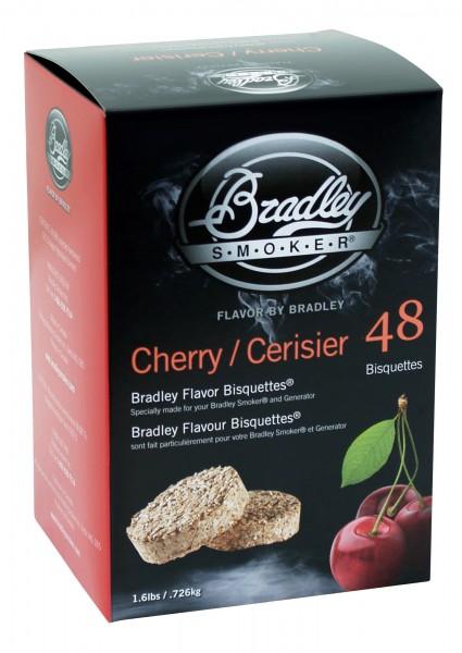Bradley Smoker Kirsche-Aromabisquetten (48 Stück)