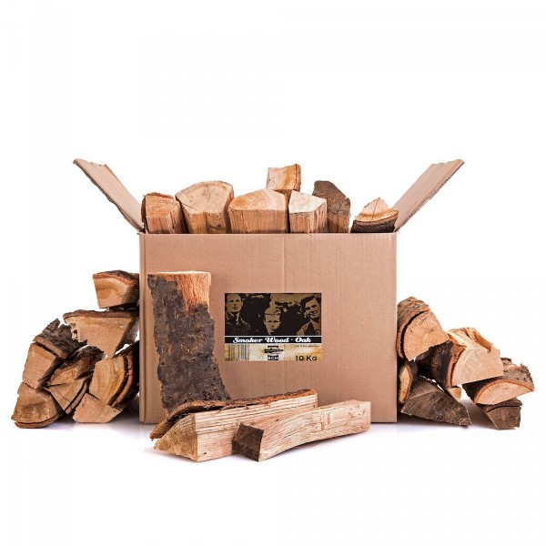 Axtschlag Oak Smoker Wood 10kg Kiste