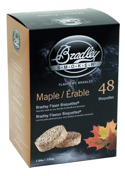 Bradley Smoker Ahorn-Aromabisquetten (48 Stück)