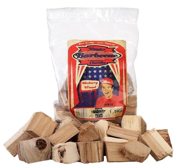 Axtschlag Hickory Woodchunks 1,5kg