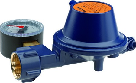 GOK Marine Gasdruckregler mit Manometer