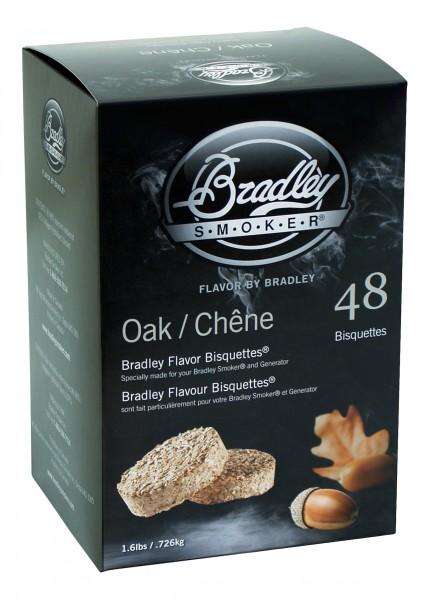 Bradley Smoke Eiche-Aromabisquetten (48 Stück)