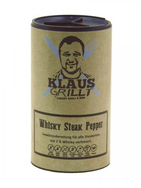 Klaus grillt Whisky Pepper 100g Streuer