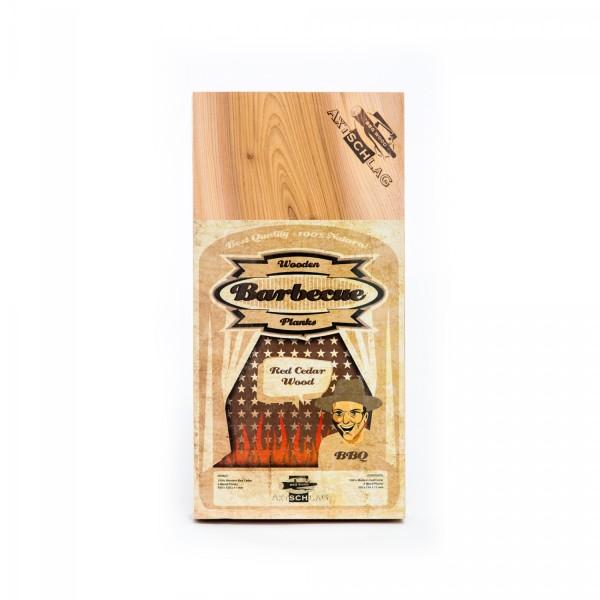 Axtschlag Räucherbrett Red Cedar