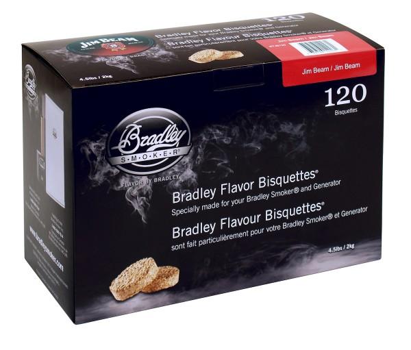Bradley Smoker Jim Beam Aromabisquetten (120 Stück)