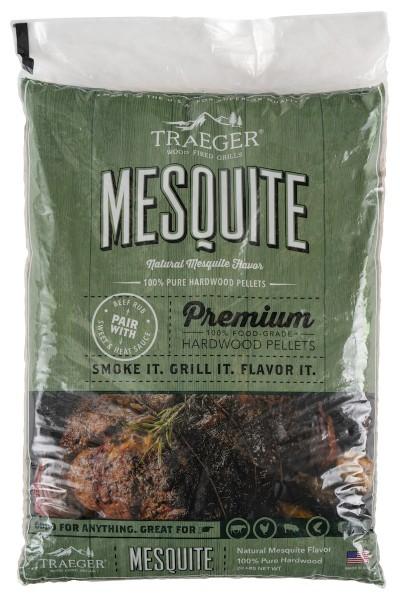 Traeger Hartholz Mesquite, 9kg Beutel
