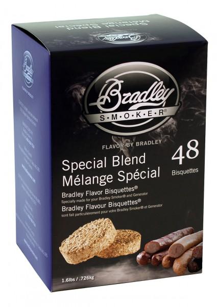 Bradley Smoke Special Blend-Aromabisquetten (48 Stück)