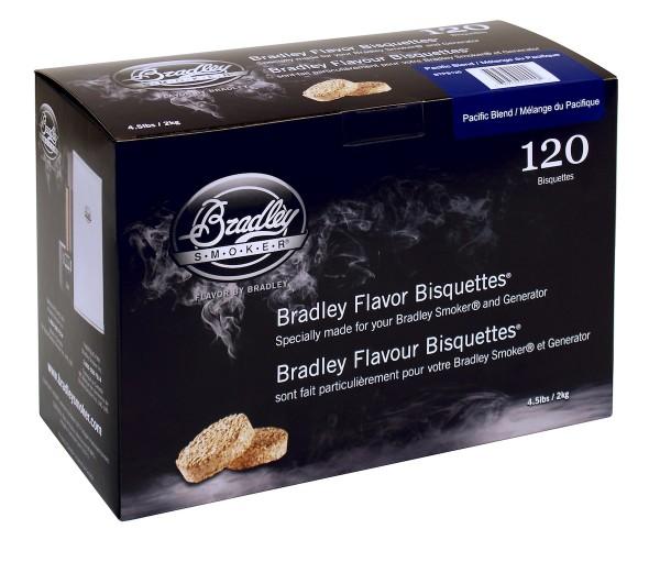 Bradley Smoker Pacific Blend Aromabisquetten (120 Stück)