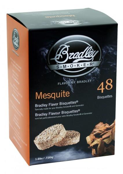 Bradley Smoker Mesquite-Aromabisquetten (48 Stück)