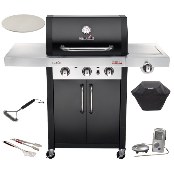 CHAR-BROIL Professional 3400B Black Deal Edition