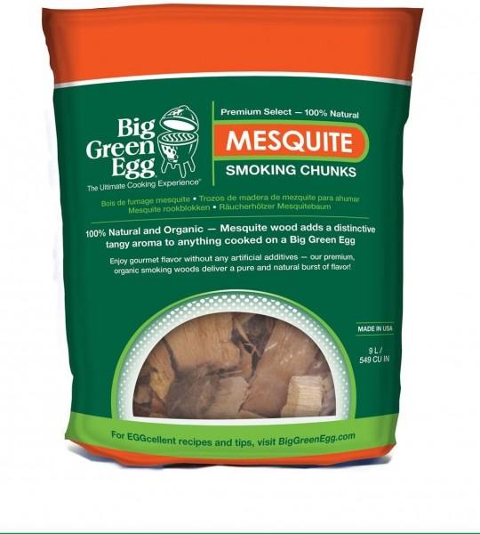 Big Green Egg Mesquite Chunks 9 Liter Beutel
