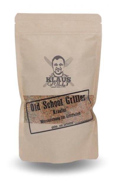 Klaus grillt Old School Griller Kräuter 200 g Beutel