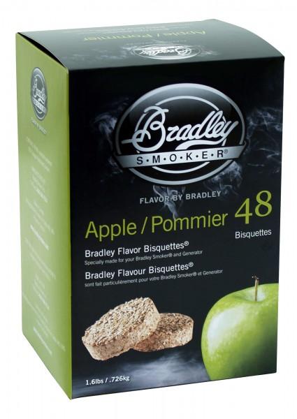 Bradley Smoker Apfel-Aromabisquetten (48 Stück)