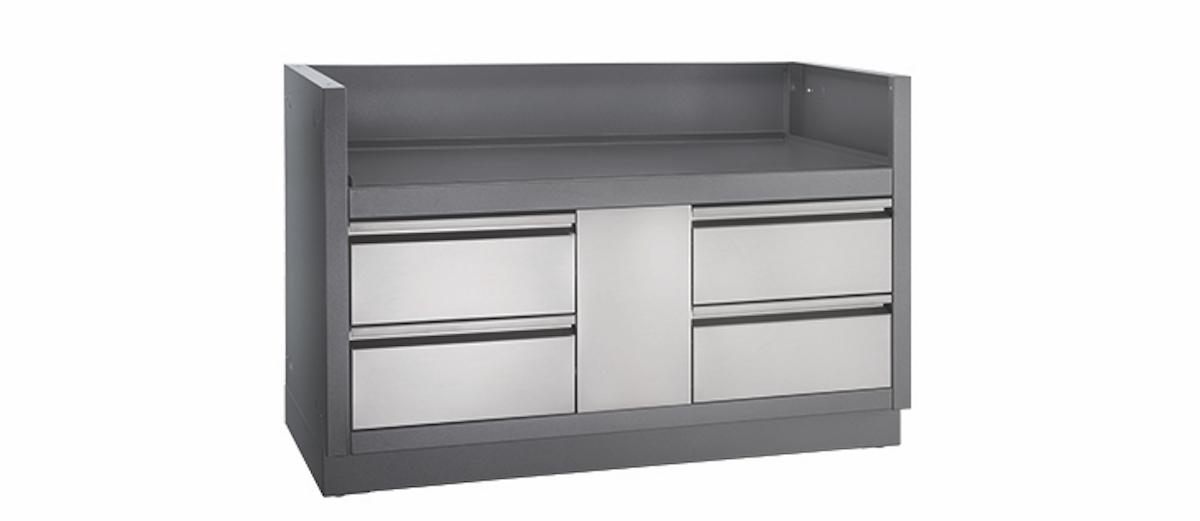 napoleon oasis grill unterschrank f r einbaugrillaufsatz bipro825 jetzt bestellen grill concept. Black Bedroom Furniture Sets. Home Design Ideas