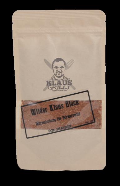 Klaus grillt Wilder Klaus Black 150g Beutel