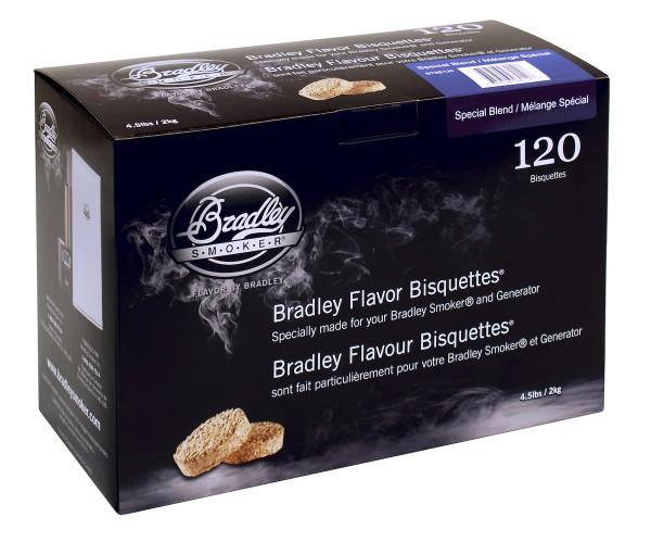 Bradley Smoke Special Blend-Aromabisquetten (120 Stück)
