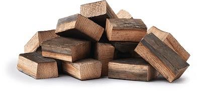 NAPOLEON Holz-Räucherchunks, Whisky-Eiche 1,5 Kg