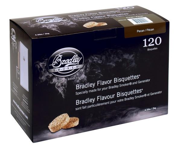 Bradley Smoker Pekannuss-Aromabisquetten (120 Stück)