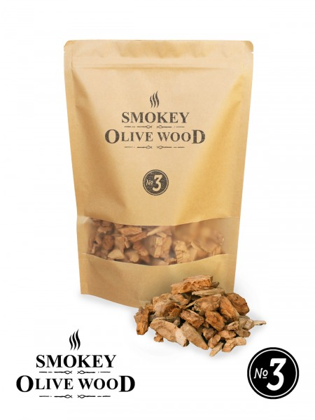 SMOKEY OLIVE WOOD Olivenholz Räucher Chips