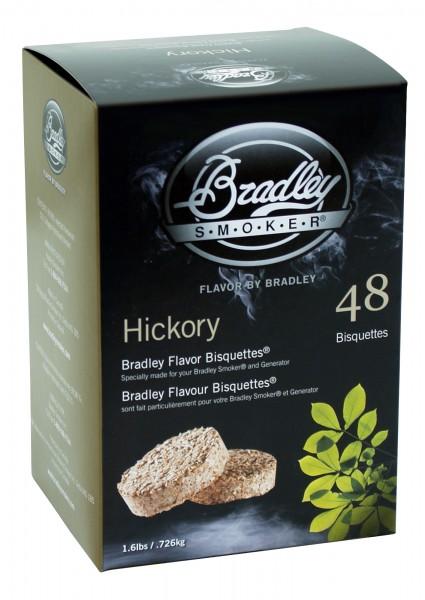 Bradley Smoker Hickory-Aromabisquetten (48 Stück)