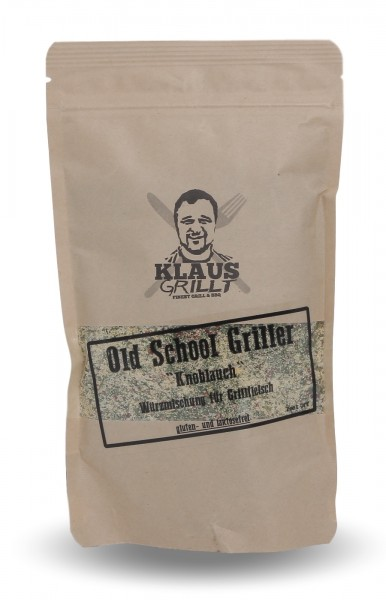 Klaus grillt Old School Griller Knoblauch 250 g Beutel