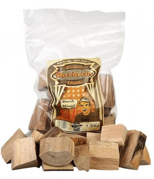 Axtschlag Buchen Woodchunks 1,5kg