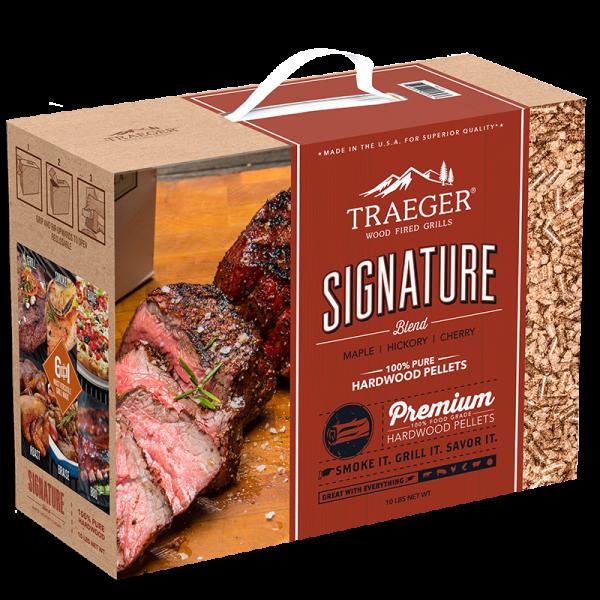 Traeger Hartholz Pellets Signature Blend 4,5kg Box