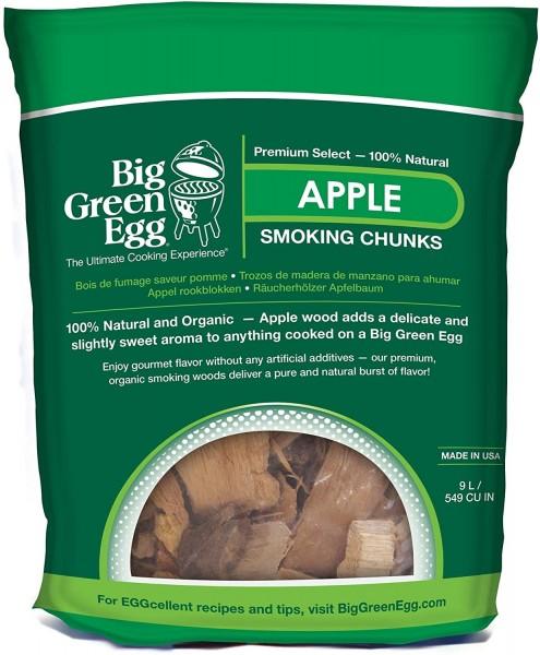 Big Green Egg Apfel Chunks 9 Liter Beutel