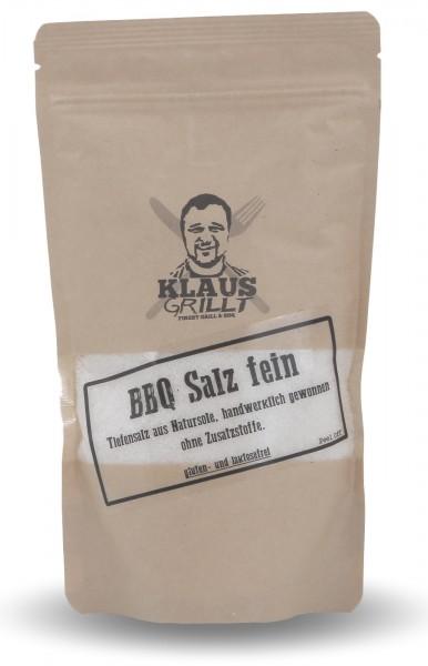Klaus grillt BBQ Salz fein 450 g Beutel