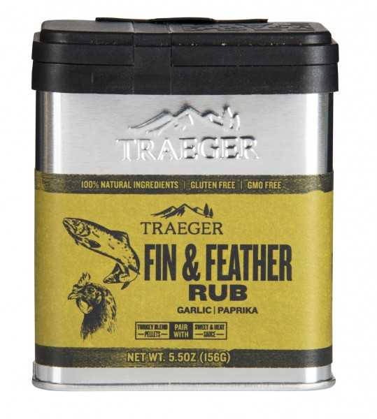 TRAEGER Fin & Feather Rub 156 g