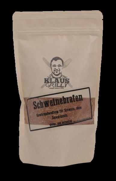 Klaus grillt Schweinebraten Würzer 250 g Beutel