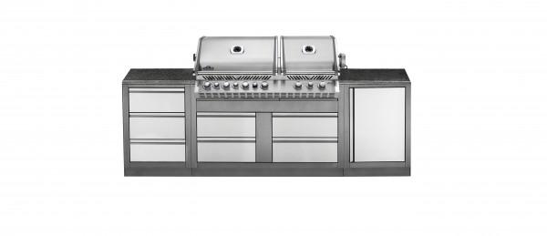 NAPOLEON Oasis 100 mit BI PRO 825 RBI PSS (Propangas)