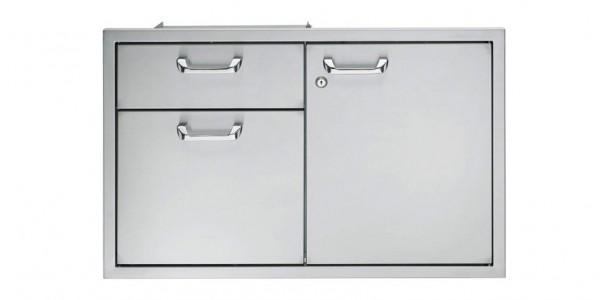 """LYNX California Professional Unterschrank 36"""" zweitürig mit Schublade"""