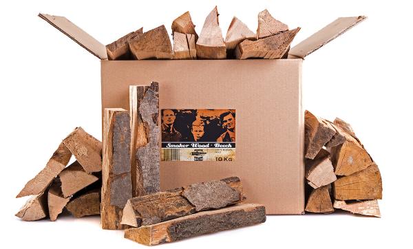 Axtschlag Beech Smoker Wood 10kg Kiste
