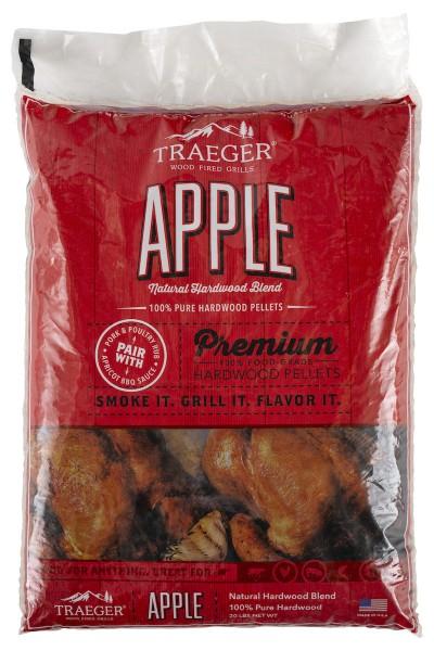 Traeger Hartholz Pellets Apfel, 9kg Beutel