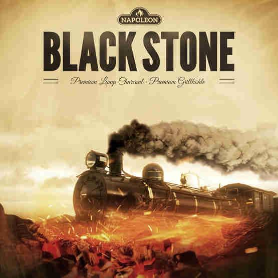 NAPOLEON Black Stone Holzkohle Briketts